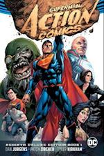 Superman Action Comics Rebirth Deluxe Coll HC Book 01 af Dan Jurgens