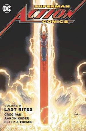 Bog, paperback Superman Action Comics TP Vol 9 Last Rites af Peter J. Tomasi