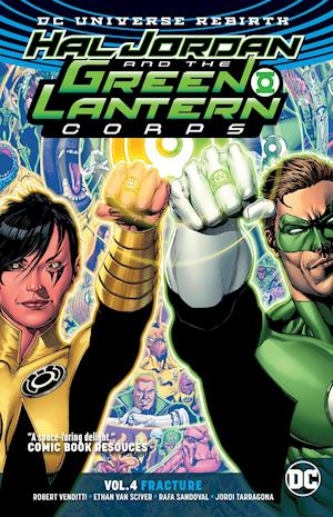Bog, paperback Hal Jordan And The Green Lantern Corps Vol. 4 Fracture (Rebirth) af Robert Venditti