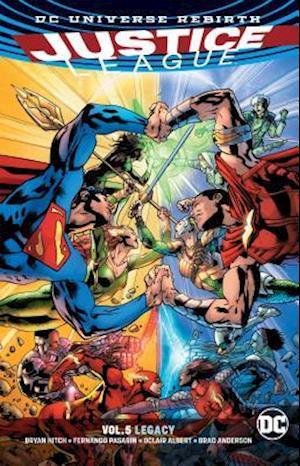Bog, paperback Justice League 5 - Legacy - Rebirth af Bryan Hitch