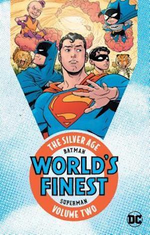 Bog, paperback Batman & Superman in World's Finest - the Silver Age 2 af Various
