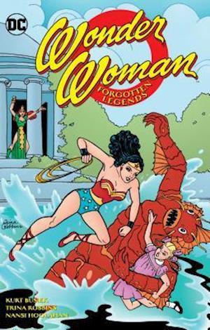 Bog, paperback Wonder Woman - Forgotten Legends af Kurt Busiek