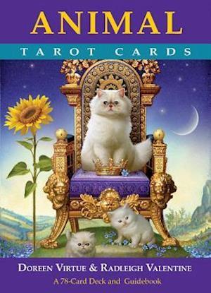 Bog ukendt format Animal Tarot Cards af Doreen Virtue