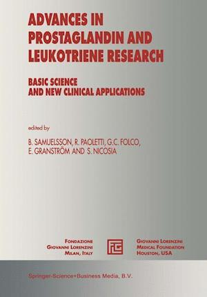 Advances in Prostaglandin and Leukotriene Research : Basic Science and New Clinical Applications