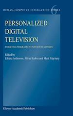 Personalized Digital Television (Human-Computer Interaction Series, nr. 6)