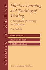 Effective Learning and Teaching of Writing (Studies in Writing, nr. 14)
