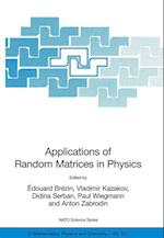 Applications of Random Matrices in Physics af Paul Wiegmann, Edouard Brezin, Anton Zabrodin