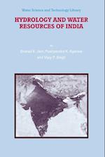 Hydrology and Water Resources of India (WATER SCIENCE AND TECHNOLOGY LIBRARY, nr. 57)