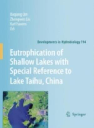 Eutrophication of Shallow Lakes with Special Reference to Lake Taihu, China