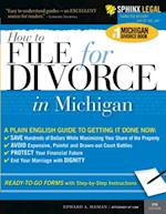 How to File for Divorce in Michigan (Legal Survival Guides)