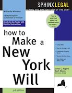 How to Make a New York Will (Legal Survival Guides)