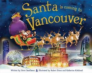 Bog, hardback Santa Is Coming to Vancouver af Steve Smallman