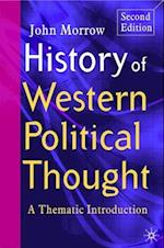History of Western Political Thought af John Morrow