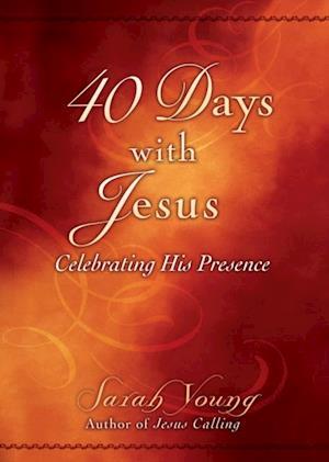 Bog paperback 40 Days with Jesus 25-Pk af Sarah Young