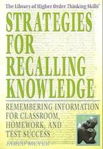 Strategies for Recalling Knowledge af Jared Meyer