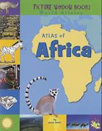 Atlas of Africa (Picture Window Books World Atlases)