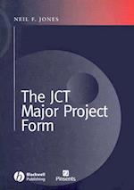 The JCT Major Projects Form
