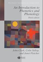 An Introduction to Phonetics and Phonology (Blackwell Textbooks in Linguistics)
