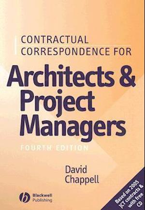 Contractual Correspondence for Architects and Project Managers [With CDROM]