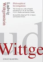 Philosophical Investigations af G E M Anscombe, Joachim Schulte, Ludwig Wittgenstein
