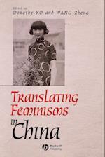 Translating Feminisms in China