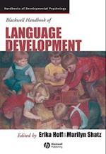 Blackwell Handbook of Language Development (Blackwell Handbooks of Developmental Psychology)