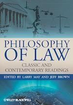 Philosophy of Law (Blackwell Philosophy Anthologies)