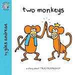 Two Monkeys (World of Happy)