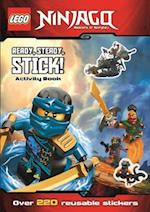 LEGO (R) Ninjago: Ready, Steady, Stick! (Sticker Activity Book) af Egmont UK Ltd