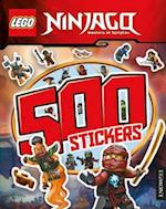 LEGO Ninjago: 500 Stickers af Egmont UK Ltd