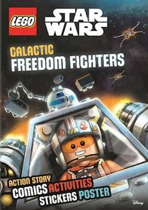 Lego (R) Star Wars: Galactic Freedom Fighters (Sticker Poster Book)