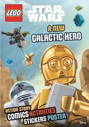 Lego (R) Star Wars: A New Galactic Hero (Sticker Poster Book)
