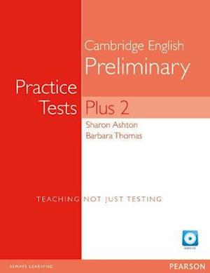PET Practice Tests Plus 2: Book with CD-Rom