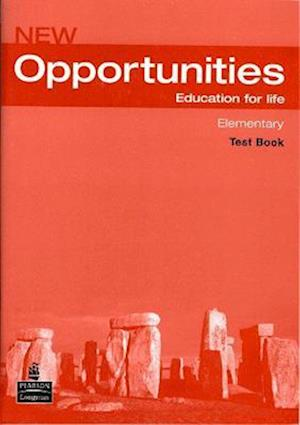 Opportunities Global Elementary Test CD Pack