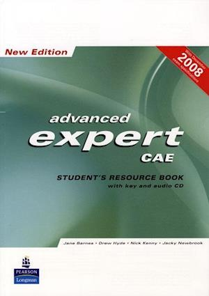 CAE Expert New Edition Students Resource Book with Key/Cd Pack