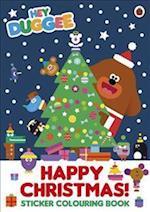 Hey Duggee: Happy Christmas! Sticker Colouring Book (Hey Duggee)