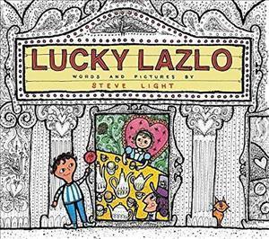 Bog, hardback Lucky Lazlo af Steve Light