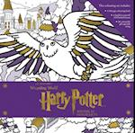 Harry Potter: Winter at Hogwarts: A Magical Colouring Set af Insight Editions