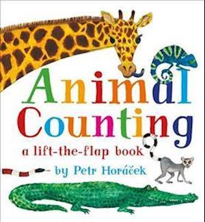 Bog, hardback Animal Counting af Petr Horacek