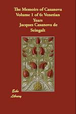 The Memoirs of Casanova Volume 1 of 6 af Jacques Casanova de Seingalt