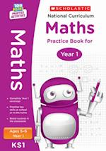 National Curriculum Maths Practice Book for Year 1 (100 Lessons 2014 Curriculum)