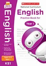 National Curriculum English Practice Book for Year 1 (100 Lessons 2014 Curriculum)