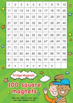 Fridge Magnets - 100 Square Maths Magnets (Scholastic Magnets)