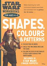 Star Wars Workbooks: Shapes, Colours & Patterns - Ages 4-5