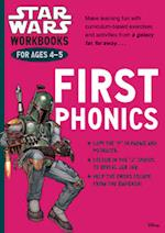 Star Wars Workbooks: First Phonics - Ages 4-5