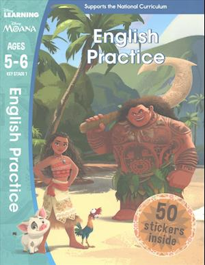 Bog, paperback Moana - English Practice (Ages 5-6) af Scholastic