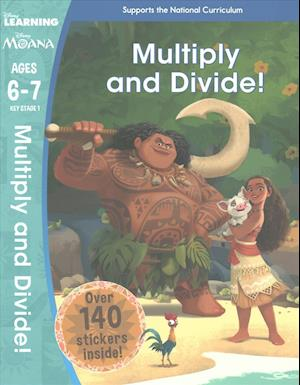 Bog, paperback Moana: Multiply and Divide! (Ages 6-7) af Scholastic