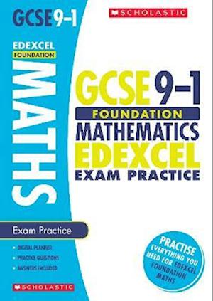 Bog, paperback Maths Foundation Exam Practice Book for Edexcel af Naomi Norman