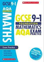 Maths Foundation Exam Practice Book for AQA (GCSE Grades 9 1)