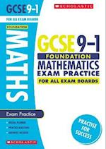 Maths Foundation Exam Practice Book for All Boards (GCSE Grades 9 1)